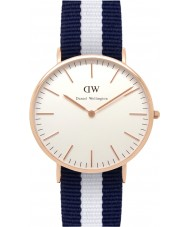 Daniel Wellington DW00100004 Mens Classic 40mm Glasgow Rose Gold Watch