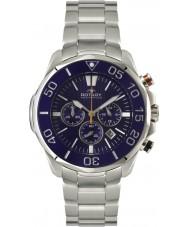 Rotary AGB00066-C-05 Mens Aquaspeed Blue Steel Chronograph Sports Watch
