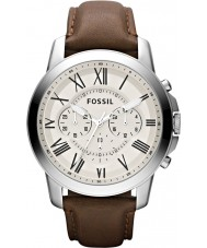 Fossil FS4735 Mens Grant Brown Chronograph Watch