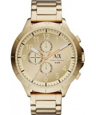Armani Exchange AX1752 Mens Gold Plated Chronograph Watch