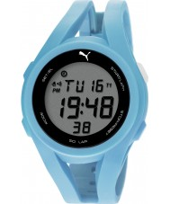 Puma PU911131004 Airy Blue Silicone Strap Watch