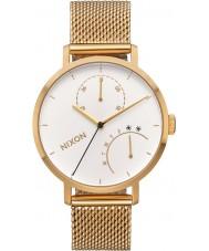 Nixon A1166-504 Ladies Clutch Gold Plated Bracelet Watch