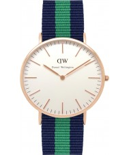 Daniel Wellington DW00100005 Mens Classic 40mm Warwick Rose Gold Watch
