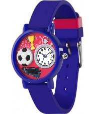 Tikkers TK0068 Boys 3D Blue Football Watch