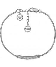 Emporio Armani EG3219040 Ladies Stelle Sterling Silver Bracelet