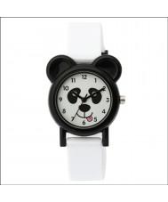 Tikkers TK0093 Kids White Silicone Panda Watch