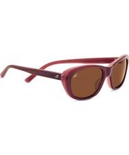Serengeti Bagheria Wine Polarized Drivers Sunglasses
