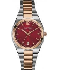 Bulova Ladies Dress Two Tone Steel Bracelet Watch