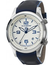 Elliot Brown 202-001-L06 Mens Canford Blue Leather Strap Watch