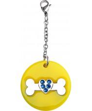 I Puppies PY-007 Dog Yellow Medium Medallion