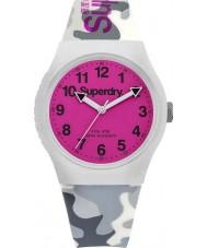 Superdry SYG164EP Urban Grey Camo Silicone Strap Watch