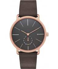 Skagen SKW6213 Mens Hagen Chocolate Leather Strap Watch