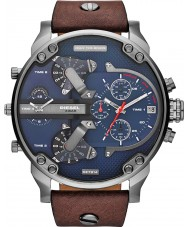 Diesel DZ7314 Mens Mr Daddy 2.0 Blue Brown Multifunction Watch