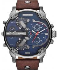 Diesel DZ7314 Mens Mr Daddy 2.0 Blue Brown Multifunction Watch