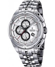 Festina F16881-1 Mens 2015 Chrono Bike Tour De France Silver Watch