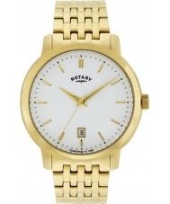 Rotary GB02462-01 Mens Timepieces Sloane Gold Plated Watch