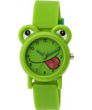 Tikkers TK0094 Boys Green Silicone Frog Watch