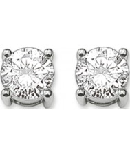 Thomas Sabo H1739-051-14 Ladies Silver Stud Earrings with White Zirconia