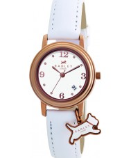 Radley RY2006 Ladies Charm White Leather Strap Watch