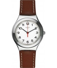 Swatch YGS131 Strictly Silver Watch