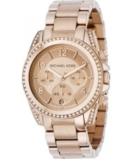 Michael Kors MK5263 Ladies Blair Rose Gold Chronograph Watch