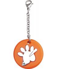 I Puppies PY-010 Dog and Cat Orange Medallion