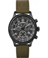 Timex T49938 Mens Black Olive Expedition Field Chronograph Watch