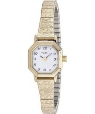 Rotary Ladies Timepieces Gold Plated Expandable Bracelet Watch