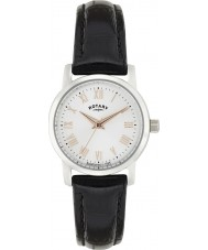 Rotary LS02460-06 Ladies Timepieces Sloane Black Leather Strap Watch