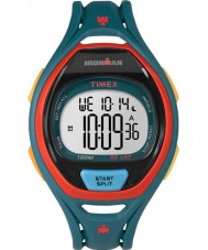 Timex TW5M01400 Ironman 150-Lap Full Size Sleek Blue Resin Strap Chronograph Watch
