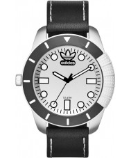 Adidas ADH3037 Mens ADI-1969 Black Leather Strap Watch