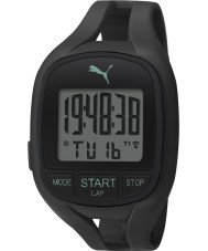 Puma PU911141001 Air II Black Silicone Strap Chronograph Watch