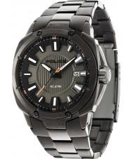 Police 13892JSU-61M Mens Mission Gunmetal Steel Bracelet Watch