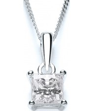 Purity 925 PUR1641P Ladies Necklace