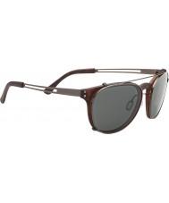 Serengeti Palmiro Satin Dark Tortoiseshell Polarized PhD Drivers Sunglasses