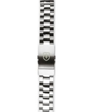 Elliot Brown STR-B01 Mens Bloxworth Silver Steel Brushed and Polished Strap