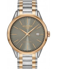 Roamer 508833-49-05-51 Mens Superior 3H Two Tone Steel Bracelet Watch