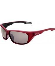 Bolle Aravis Matt Red Polarized TNS Gun Sunglasses