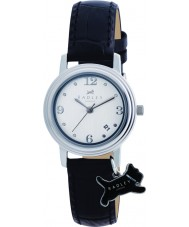 Radley RY2007 Ladies Charm Black Leather Strap Watch