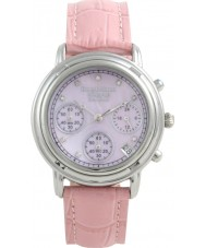 Krug Baümen 150572DL Ladies Principle Diamond Chronograph Watch