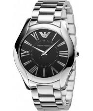 Emporio Armani AR2022 Mens Classic Slim Black Silver Watch