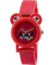 Tikkers TK0096 Boys Red Silicone Monster Watch