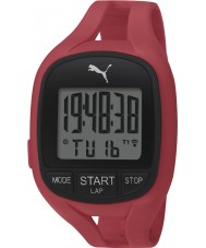 Puma PU911141002 Air II Red Silicone Strap Chronograph Watch