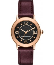 Marc Jacobs MJ1474 Ladies Riley Burgundy Leather Strap Watch