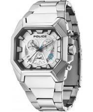 Police 13837JS-04M Mens Hunter Silver Steel Bracelet Watch