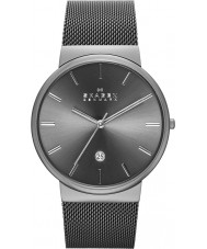 Skagen SKW6108 Mens Ancher Grey Mesh Strap Watch