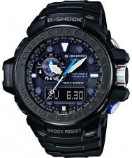 Casio GWN-1000C-1AER Mens G-Shock Gulfmaster Black Triple Sensor Solar Powered Watch