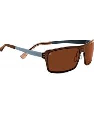 Serengeti Duccio Crystal Brown Polarized PhD Drivers Sunglasses