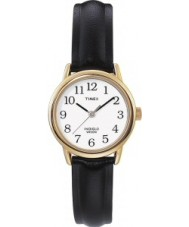 Timex T20433 Ladies Gold Black Easy Reader Watch