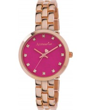 Accessorize AZ4001 Ladies Colour Pop Rose Gold Bracelet Watch